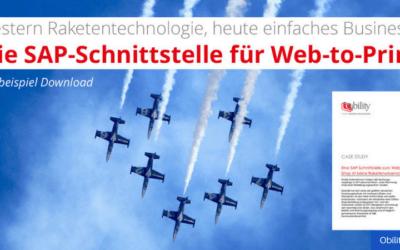 SAP-Schnittstelle für den Web-to-Print Shop