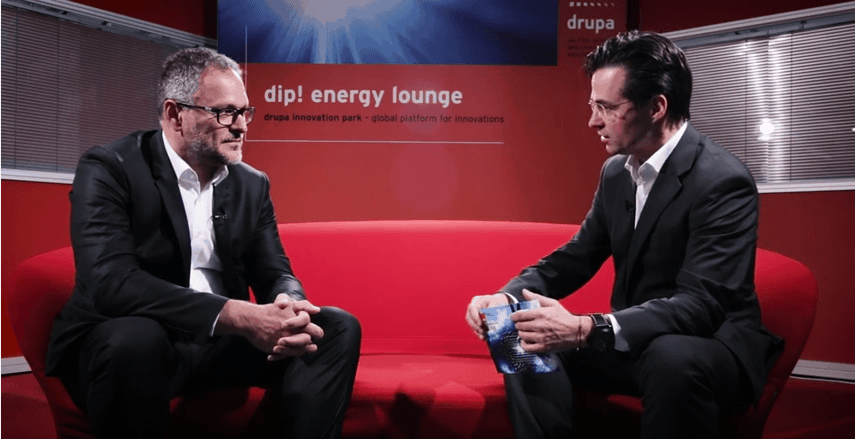 Drupa Innovation Parc Interview mit Frank Siegel
