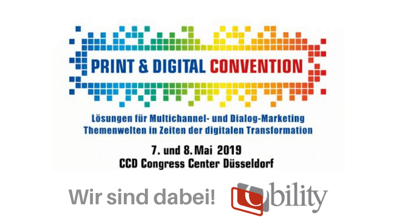 Obility bei der Print & Digital Convention