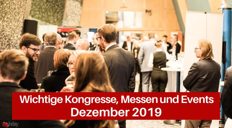 Veranstaltungen für die Druckbranche, Dezember 2019