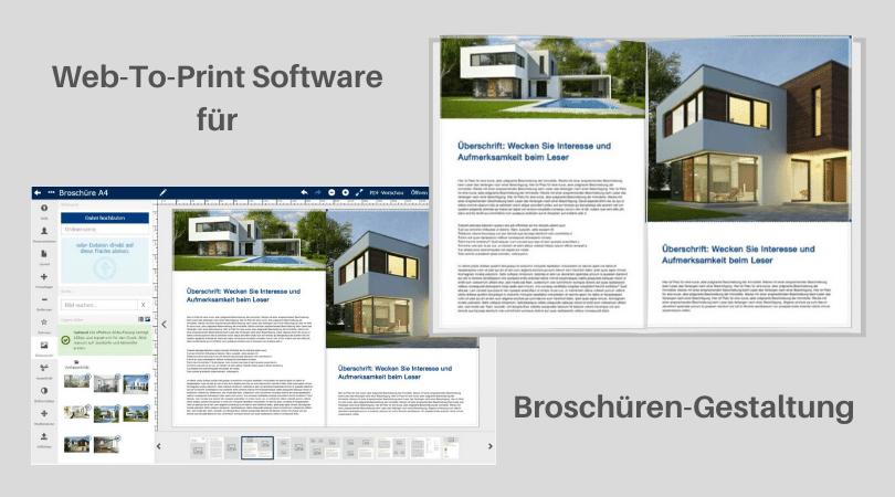 Praxisbericht Download: Web-To-Print Software für Broschüren-Gestaltung