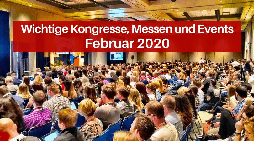 Veranstaltungen für die Druckbranche, Februar 2020