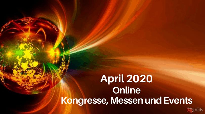 Veranstaltungen für die Druckbranche, April 2020