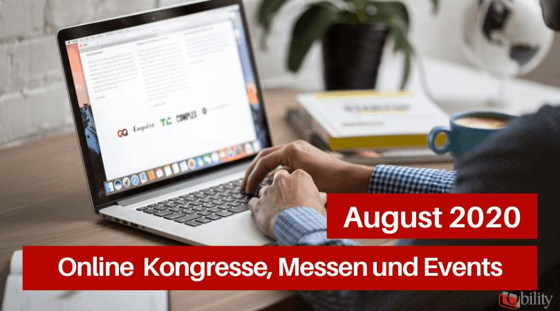 Veranstaltungen für die Druckbranche, August 2020